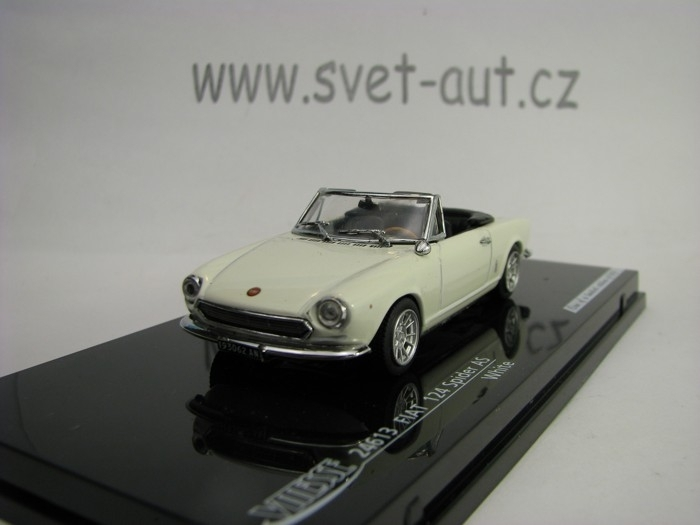 Fiat 124 Spider AS White 1:43 Vitesse